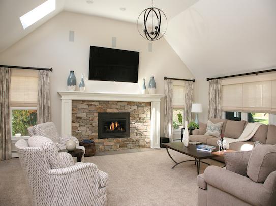 modern great room design